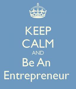 Entrepreneur calm